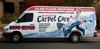 Carpet Cleaning Truck